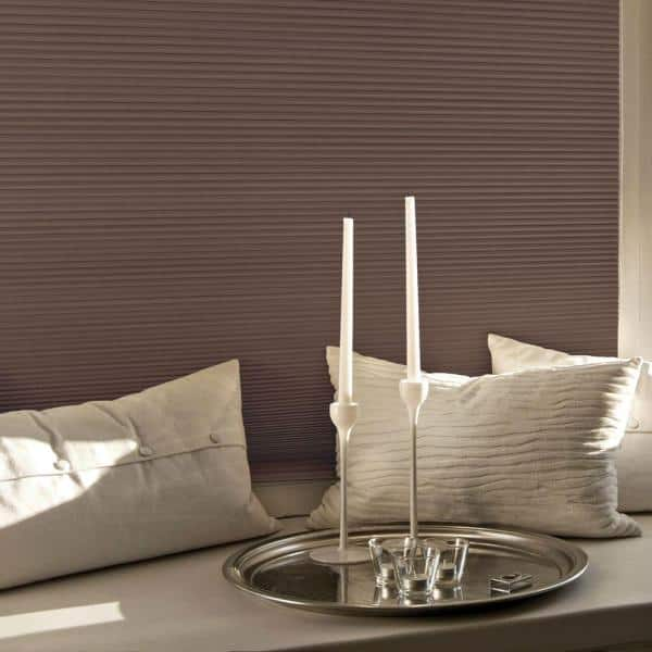 Home Decorators Collection Mocha Cordless Blackout Cellular Shade 42 In W X 48 In L 10793478632077 The Home Depot