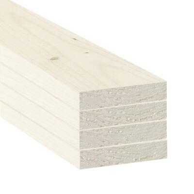 1 in. x 4 in. x 2 ft. SPF Primed Boards (4-Pack)