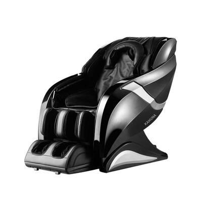 HUBOT Black 3D Exquisite Rhythmic HSL-Track Massage Chair