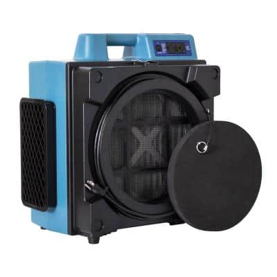 Professional 3 Stage Filtration HEPA System Scrubber with Hour Meter Air Purifier