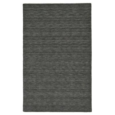 Celano Charcoal 8 ft. x 11 ft. Solid Area Rug