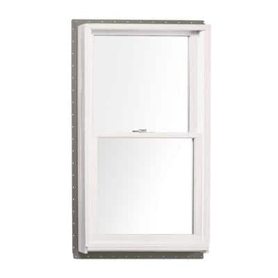 37.625 in. x 56.875 in. 400 Series Tilt-Wash Double Hung Wood Window with White Exterior