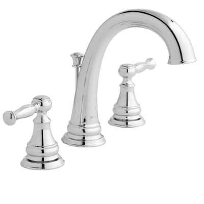 Fairway 8 in. Widespread 2-Handle High-Arc Bathroom Faucet in Chrome
