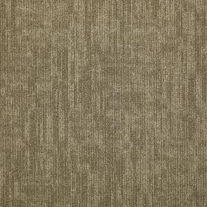 Graphix Khaki Loop Commercial 24 in. x 24 in. Glue Down Carpet Tile (12-tile/case)