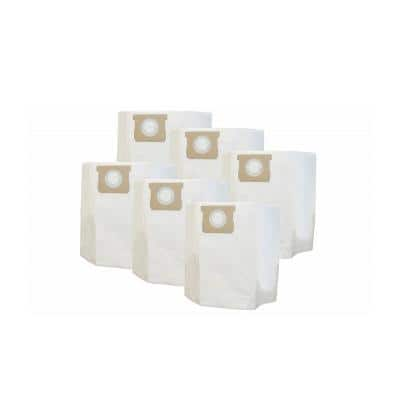 Type I Bags Replacements for Shop-Vac 10 - 14  Gal. Wet and Dry Vacs Part SV-9067200 (6-Pack)
