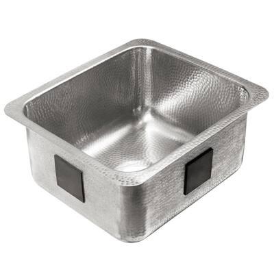 Wilson 18 Gauge Stainless Steel 17 in. Undermount Bar Sink