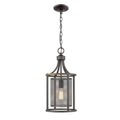 Verona 1-Light Oil Rubbed Bronze Pendant