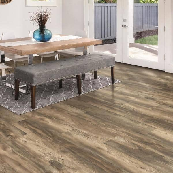 Pergo Outlast 7 48 In W Weathered, Weathered Laminate Flooring