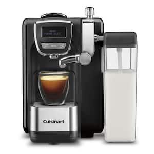 1-Cup Espresso Defined Black Espresso, Cappuccino and Latte Machine