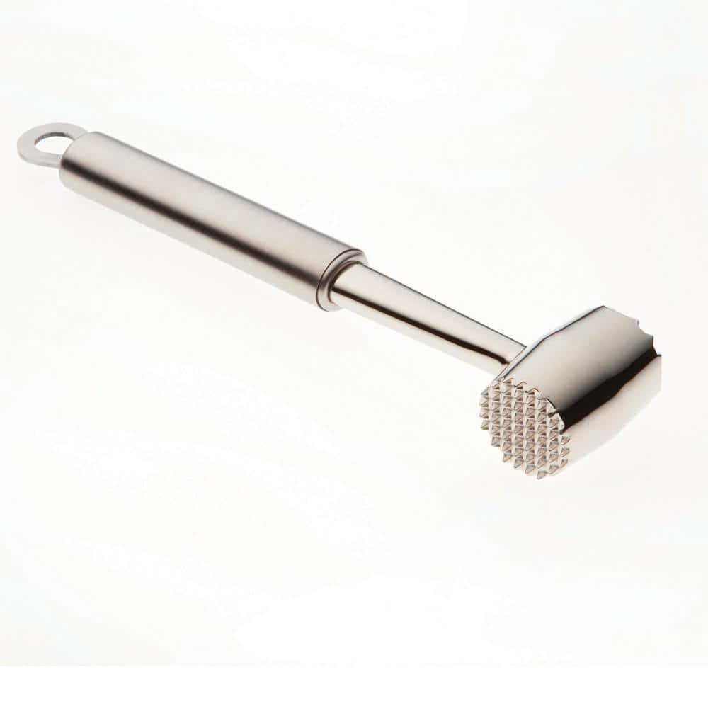 Stainless Steel Meat Pounder 304 Heavy Sturdy Meat Mallet//Hammer Tool Fast Ship