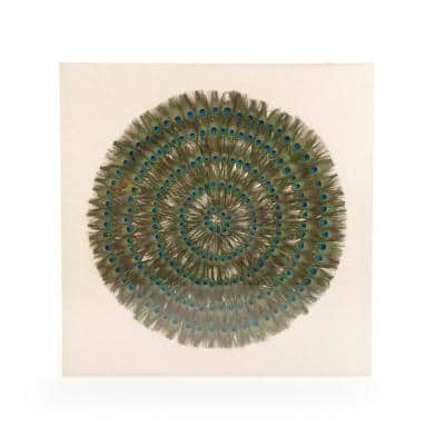 Peacock Feather Wall Art
