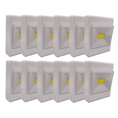 Battery Powered Touch Light in Grey (Pack of 12)