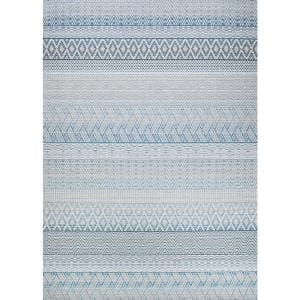 Cape Gables Surf 5 ft. x 8 ft. Indoor/Outdoor Area Rug