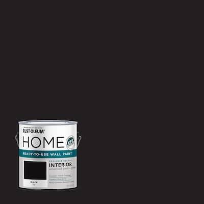 1 Gal. Flat Black Interior Wall Paint