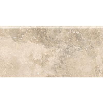 Tavern City Wheat S4489 4-1/4 in. x 8-1/2 in. Ceramic Bullnose Wall Tile (20 each / carton)