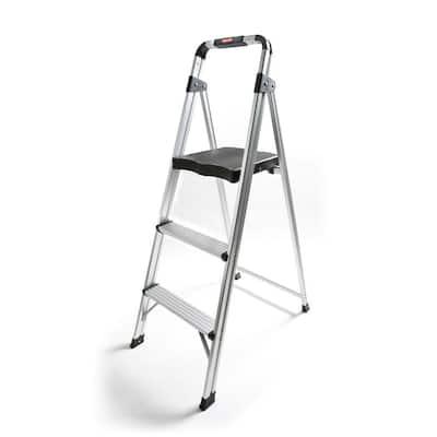 3-Step Aluminum Step Stool Ladder