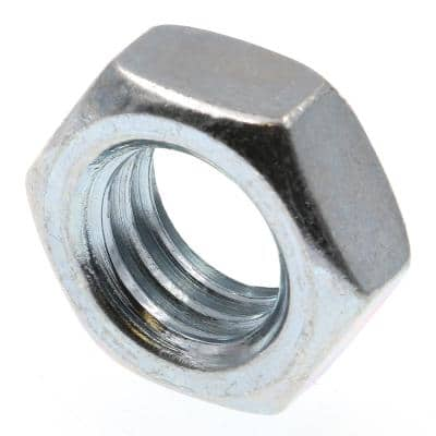 1/2 in.-13 A563 Grade A Zinc Plated Steel Hex Jam Nuts (50-Pack)