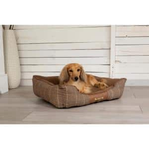 Scruffs Windsor Large Chestnut Polyester Dog Mattress Bed Rcd 938550 The Home Depot