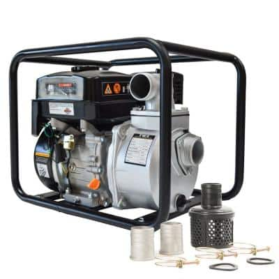 6.5 HP 3 in. Portable Utility Gas Powered Water Pump
