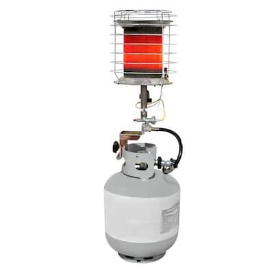 40,000 BTU 360-Degree Tank Top Gas Portable Heater