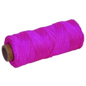 500 ft. Florescent Pink Braided Mason's Line