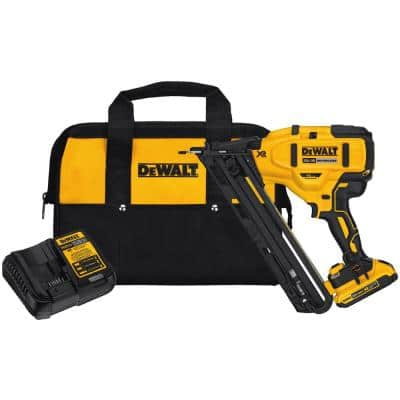 20-Volt Max Lithium-Ion Cordless 15-Gauge Finish Nailer