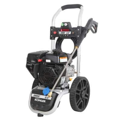 2800 PSI 2.4 GPM Kohler Cold Water Gas Pressure Washer