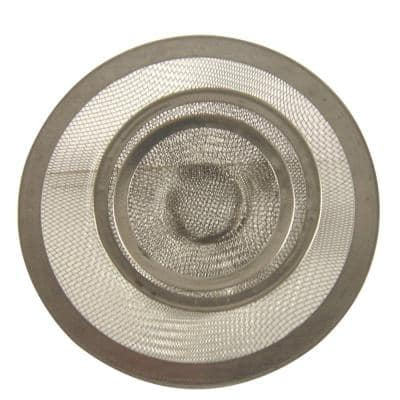 Mesh Sink Strainer in Stainless Steel-Value Pack