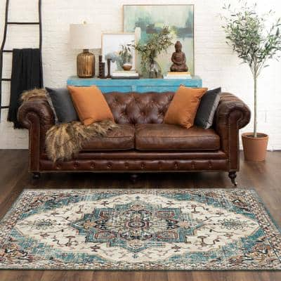 Stockdale Vaporous Gray 8 ft. x 10 ft. Indoor Area Rug