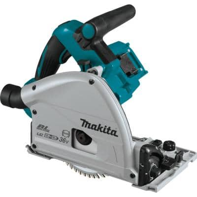 18-Volt X2 LXT Lithium-Ion (36-Volt) Brushless Cordless 6-1/2 in. Plunge Circular Saw, with AWS (Tool Only)