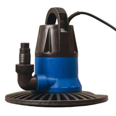 Super Dredger 2450 GPH In-Ground Winter Cover Pump with Base