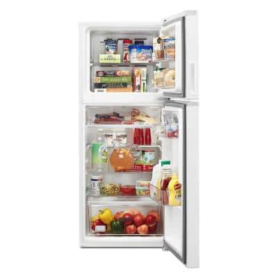 24 in. 11.6 cu. ft. Top Freezer Refrigerator in White, Counter Depth, ENERGY STAR