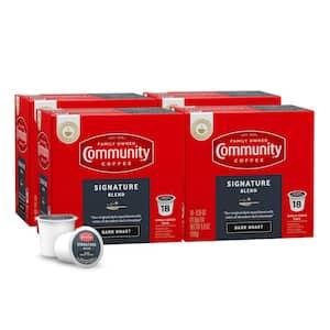 Community Coffee Signature Blend Dark Roast Single Serve Cups Deals