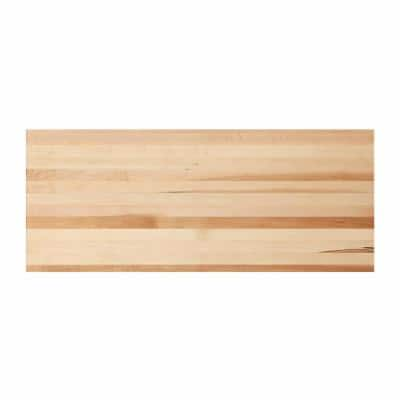 3/4 in. x 0.83 ft. x 2 ft. Edge-Glued Hardwood Project Panel