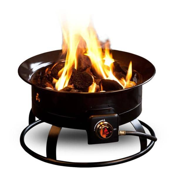 Outland Firebowl Standard 19 In Steel Portable Propane Fire Pit 823 The Home Depot