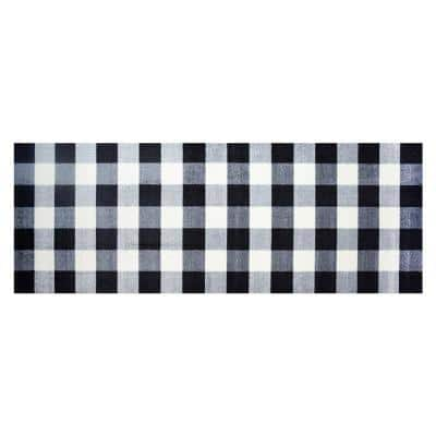 In-Home Washable/Non-Slip Buffalo Check 2 ft. 3 in. x 6 ft. 3 in. Runner Rug