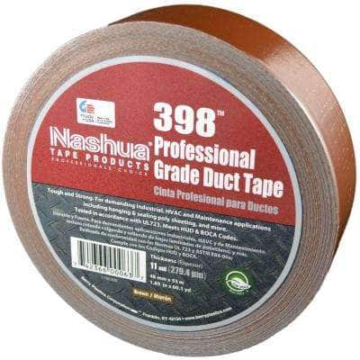 1.89 in. x 60.1 yds. 398 All-Weather Brown HVAC Duct Tape