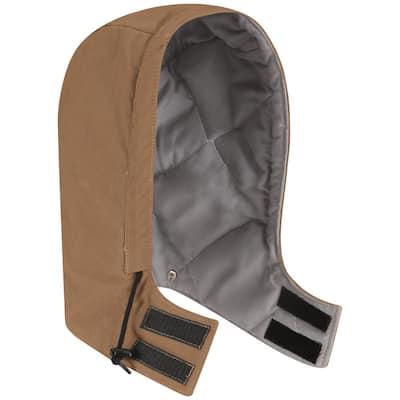 EXCEL FR ComforTouch Men's Medium Brown Duck Brown Duck Universal Fit Snap-On Hood
