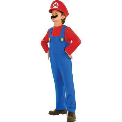 Super Mario Bros Small Boys Mario Kids Costume