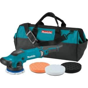 5 in. Dual Action Random Orbit Polisher with Foam Pads and Bag