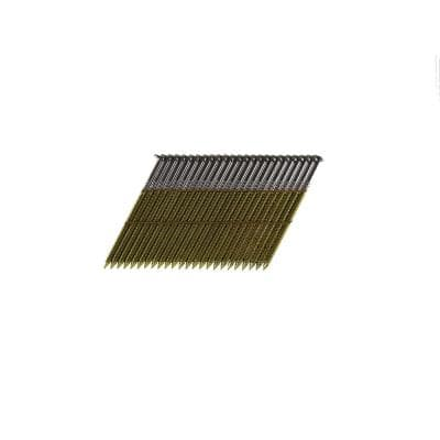 2-3/8 in. x 0.113 Wire Weld Collated Bright Ring Shank Framing Nails (500 per Box)