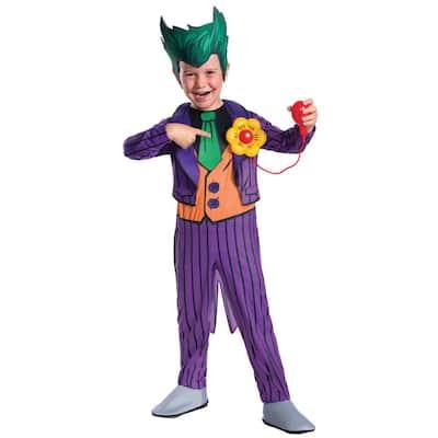 Batman Small Boys The Joker Deluxe Kids Halloween Costume