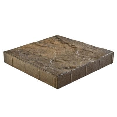 Taverna 16 in. L x 16 in. W x 50 mm H Square Eddington Blend Concrete Step Stone ( 72-Piece/124 Sq. ft./Pallet )