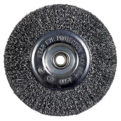6 in. Bench Wire Wheel Coarse