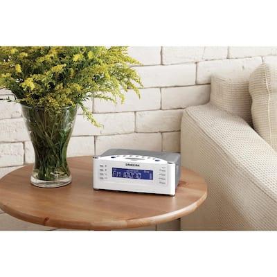 FM/AM/Aux-in Tuning Radio Controlled Alarm Clock
