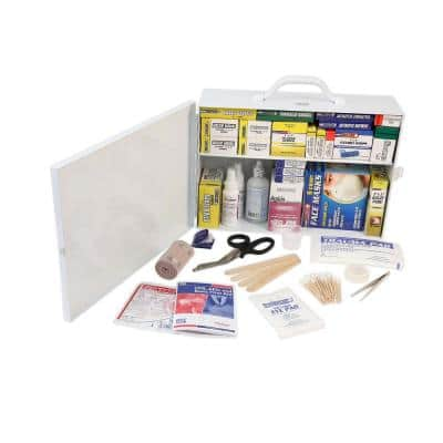 520-Piece 2 Shelf OSHA/ANSI First Aid Cabinet
