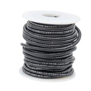 16 AWG 25 ft. Primary Wire Spool, Black