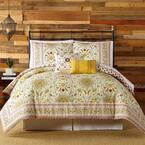 Joanne 5-Piece Red Queen Comforter Set