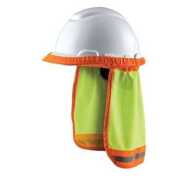Hi-Viz Yellow Hard Hat Sun Shade (Case of 8)