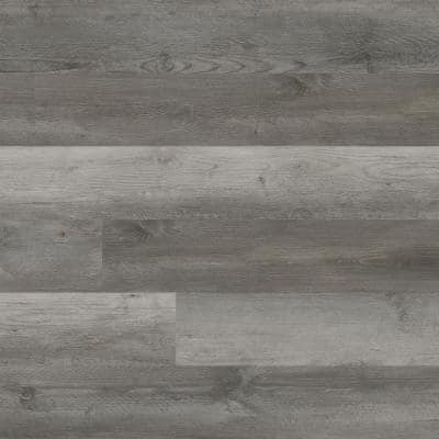 Centennial Weathered Oyster 6 in. x 48 in. Glue Down Luxury Vinyl Plank Flooring (36 sq. ft. / case)